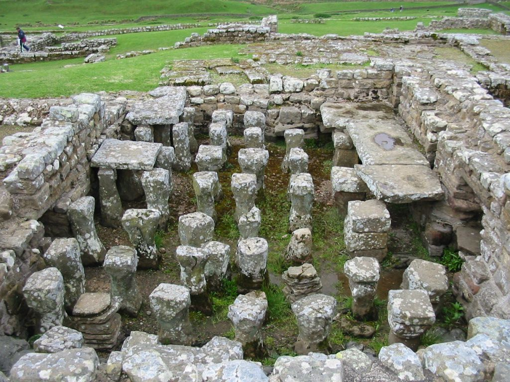 Image result for Ancient Radiant Heating