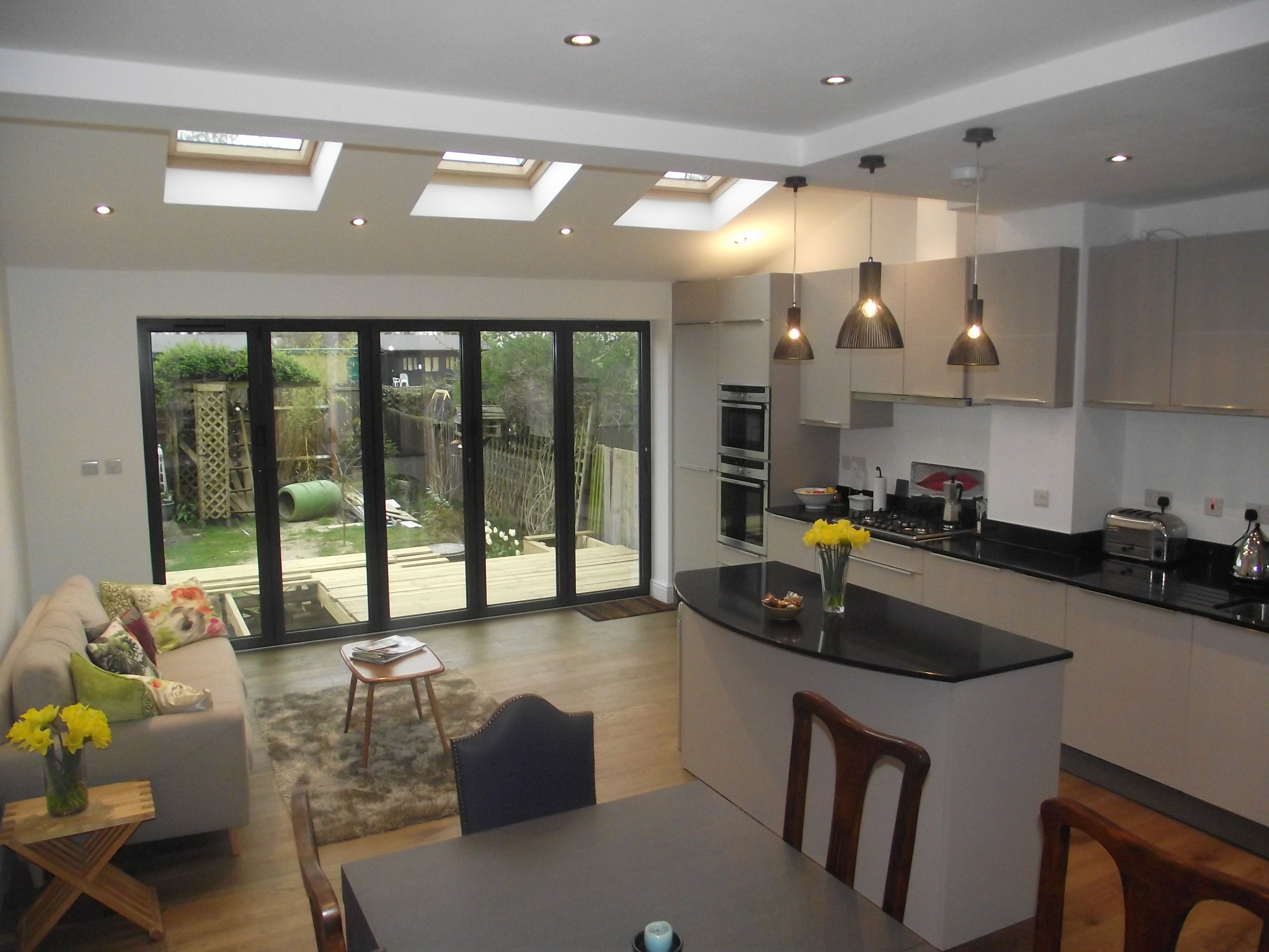 23 Ideas For A Super Cool Backyard Open Plan Kitchen Living Room