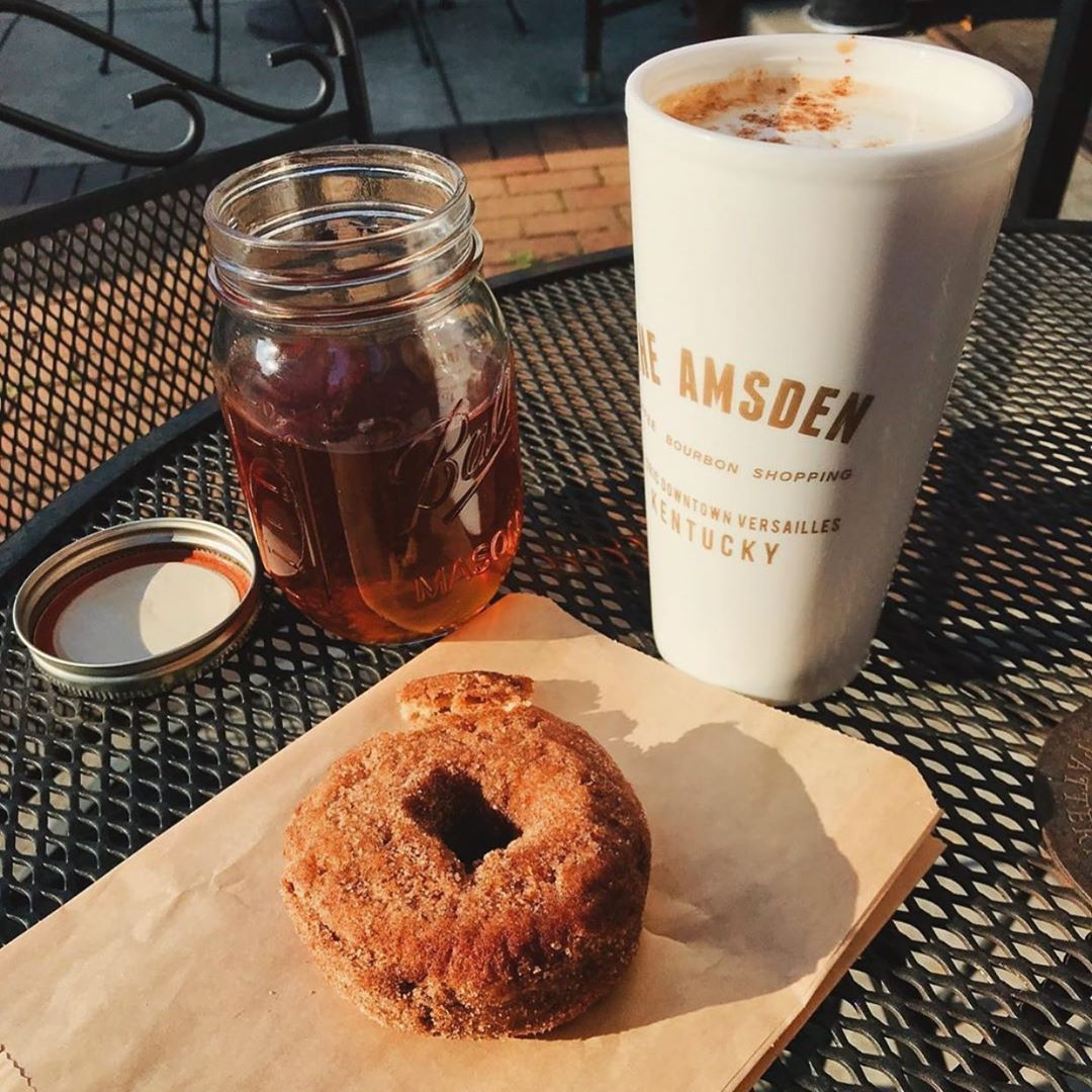 The best way to start off your Monday come see us today and try one of our new fall offerings! lexfoodguide .....#pumpkinspice