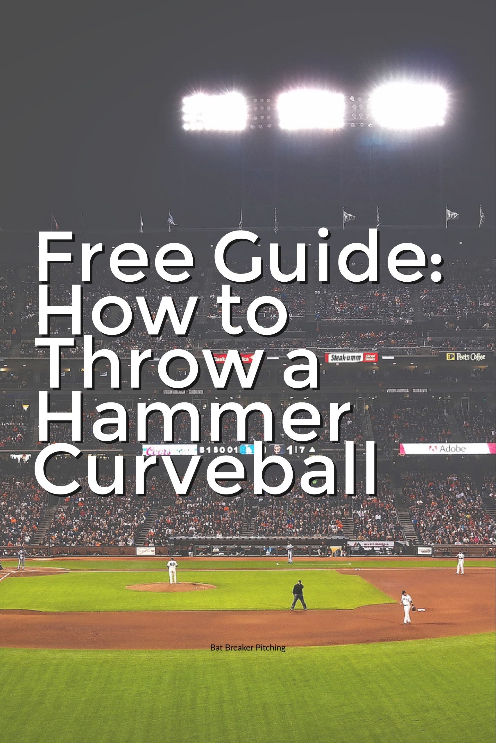 Download the guide to learn my step by step method in teaching a sharper,  pro-quality curveball.