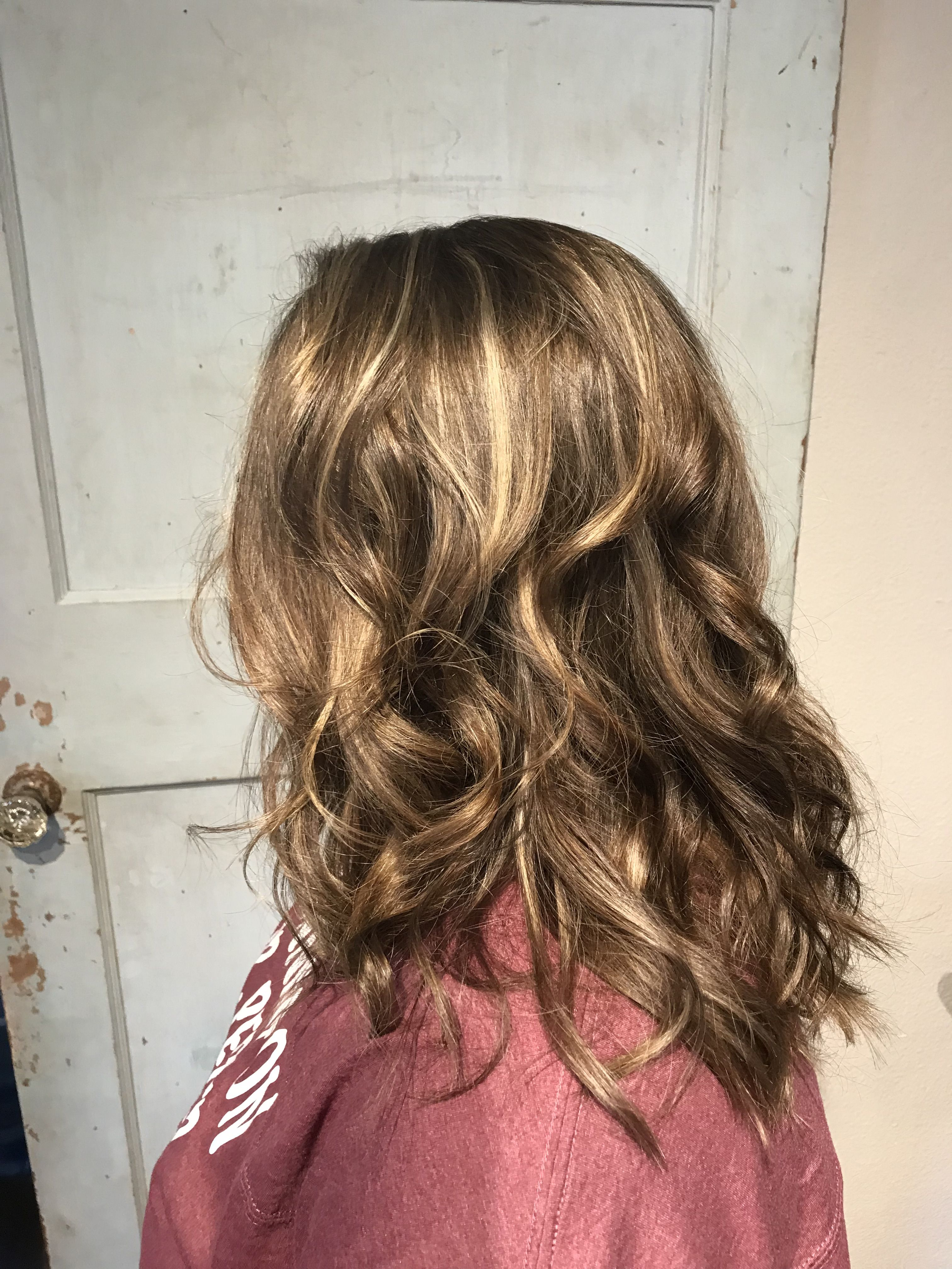 Previously Heavily Hilited Hair Tinted Back To A More