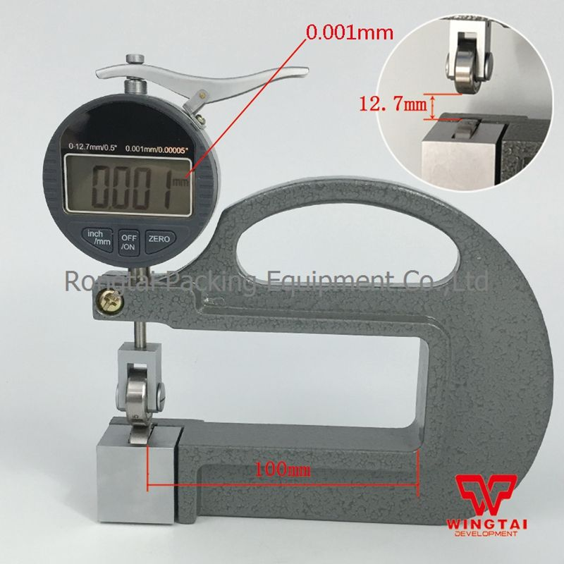 0 12 7mm Wheel 0 001mm Digital Type Thickness Tester For Leather Measurement Tools Info Digital
