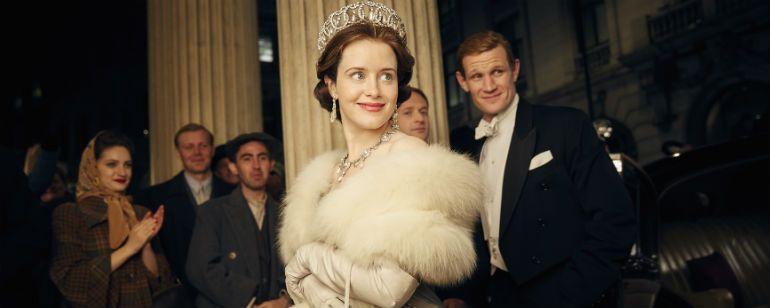 'The Crown': Claire Foy y Matt Smith podrían abandonar la serie antes de la tercera temporada  Noticias de interés sobre cine y series. Estrenos trailers curiosidades adelantos Toda la información en la página web.