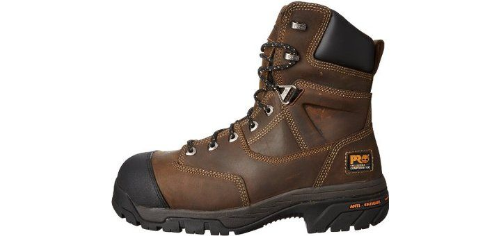 Timberland Pro Men S 6 Inch Boondock Comp Toe Wp Insulated