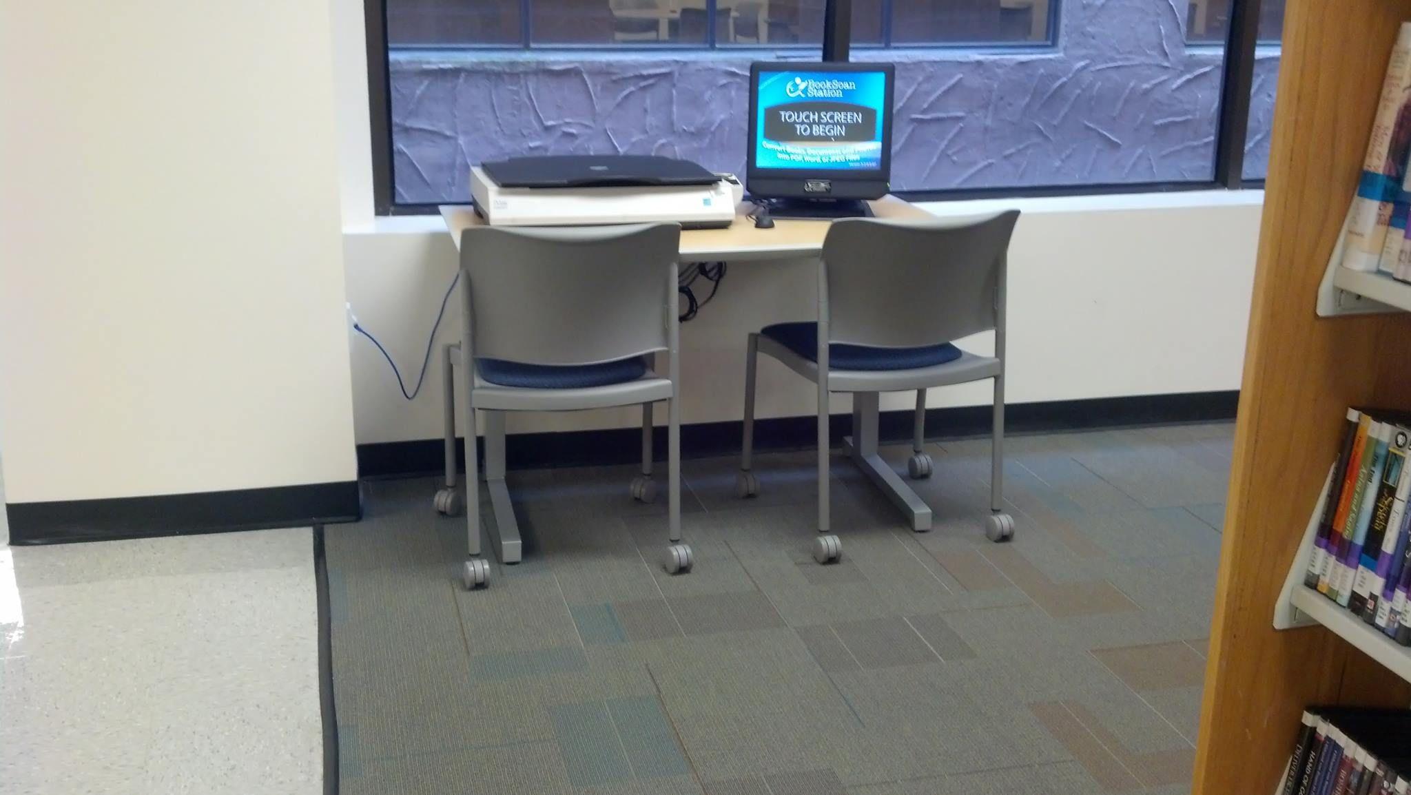 BookScan Station - book scanner
