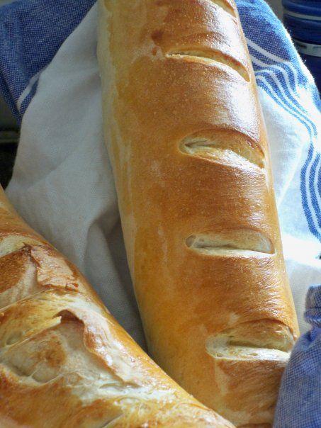 French Baguettes | Recipe | Baguette recipe bread machine ...