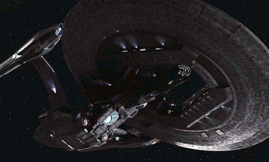 Some Federation starship.