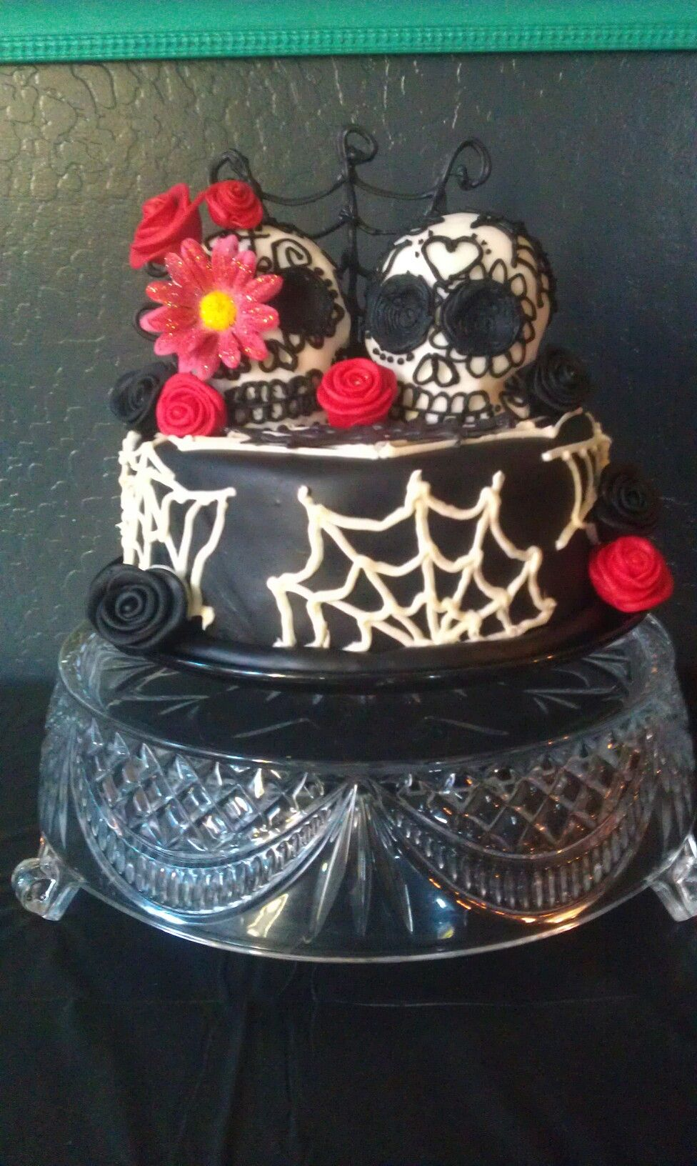 Day Of The Dead Birthday Cake By Denise Mendoza Gallegos Cake Swag
