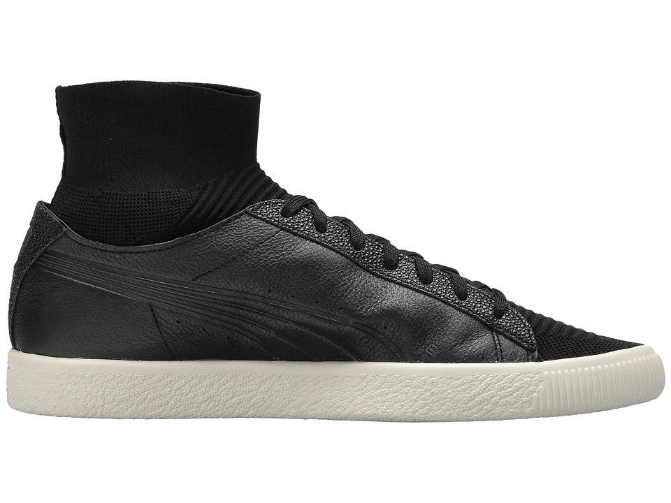 47412fb218632b PUMA Clyde Sock Caviar FM Men s Shoes PUMA Black
