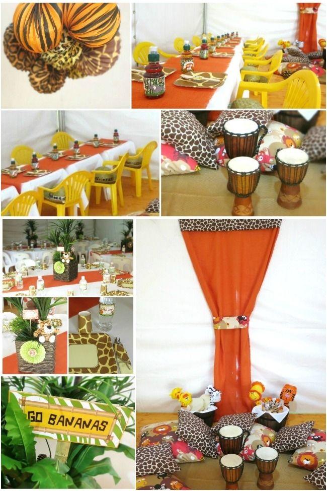 Safari Party Decorations wwwspaceshipsandlaserbeamscom