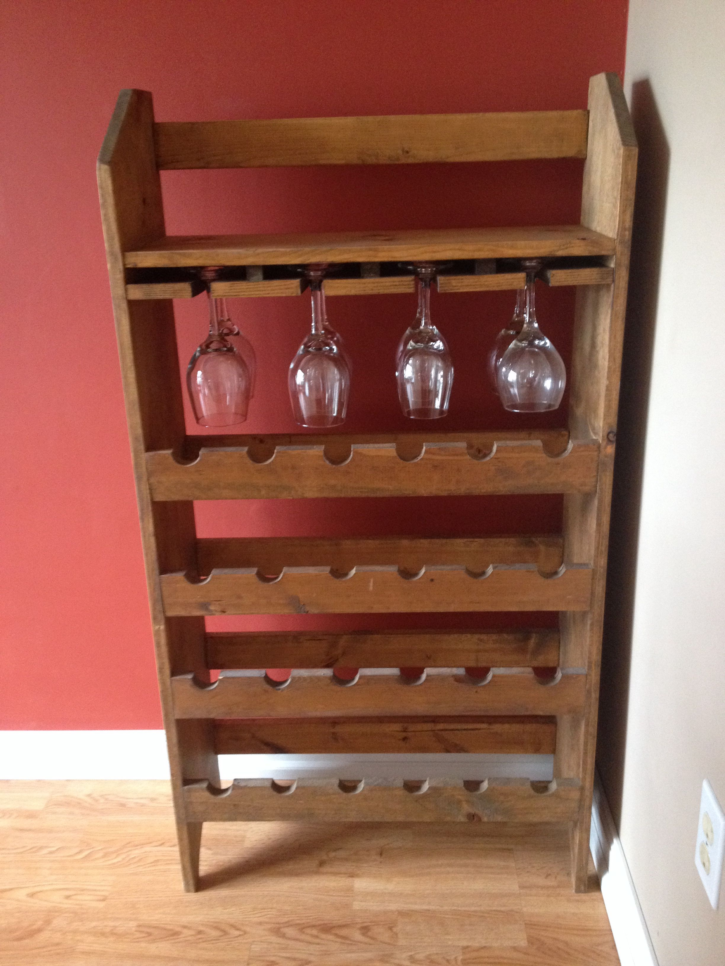 2 Dollar Wine Rack Yard Sale Score Lixeira
