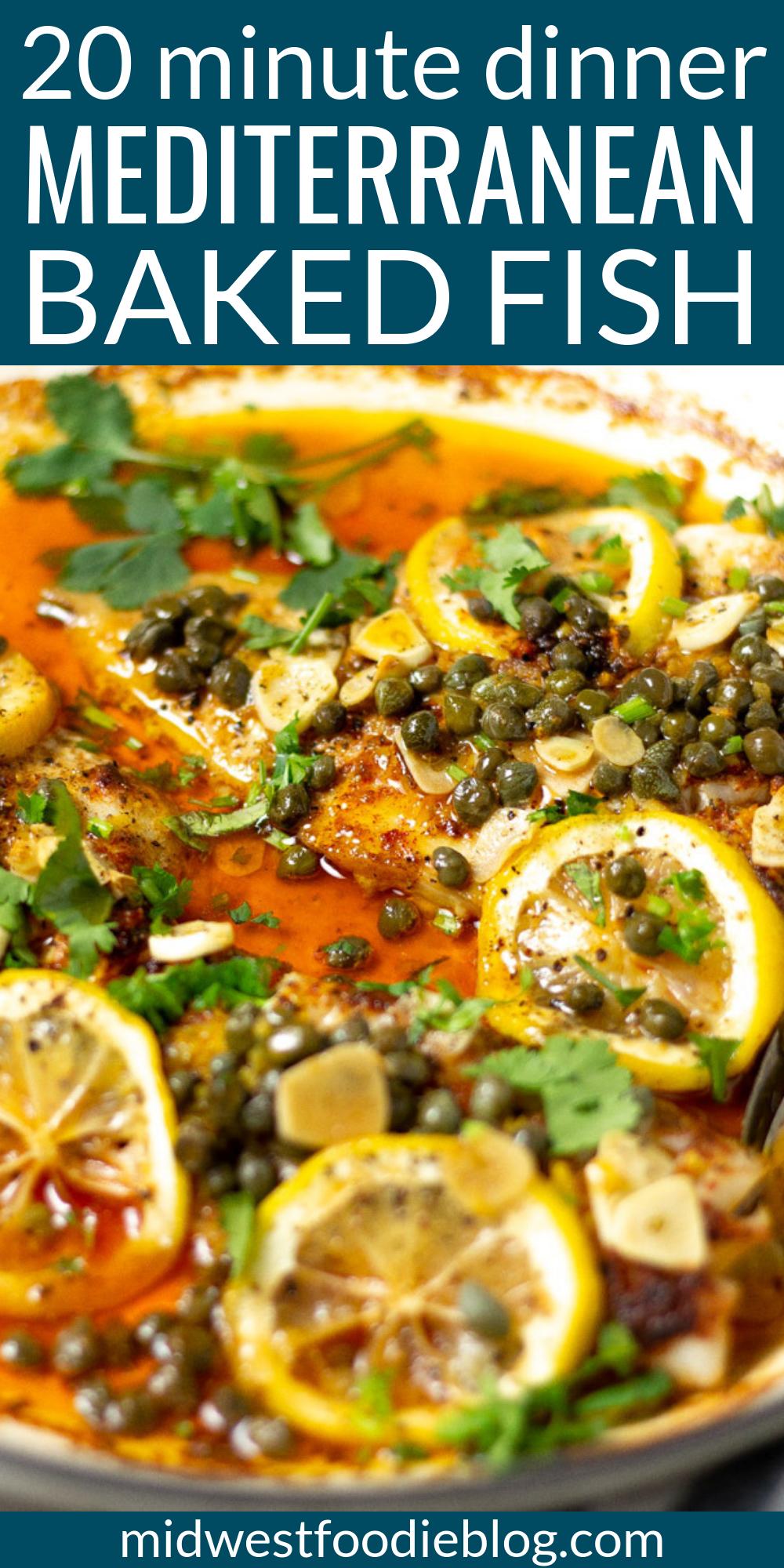 Mediterranean Baked Cod Recipe Mediterranean Tilapia Recipe Fish Recipes Healthy Recipes