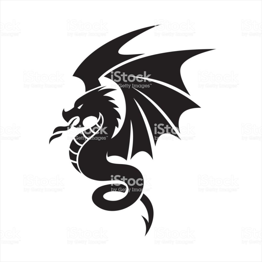 Dragon Icon Symbol Dragon Icon Illustration Dragon
