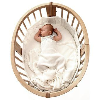 Stokke Sleepi Crib This Crib Can Be Modified Into A Toddler - Lit rond stokke