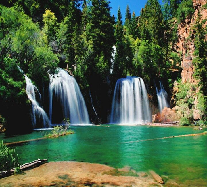 Waterfall Hikes Near Denver Colorado: Hanging Lake Colorado, Been There...breathtaking