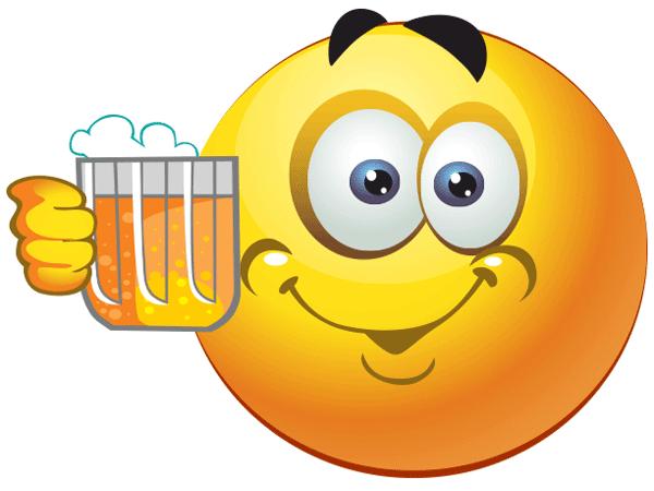 Cheers to Beer | Smileys | Pinterest | Smiley bilder ...