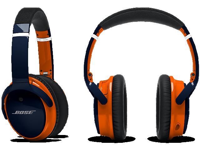 Nfl Edition Custom Qc 25 Headphones Apple Devices Headphones Bose Headphones Bose Qc25 Headphones
