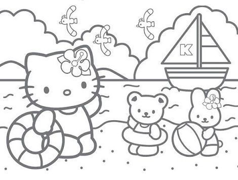 Hello Kitty Color Pages Hello Kitty Colouring Pages Hello Kitty Coloring Hello Kitty Drawing