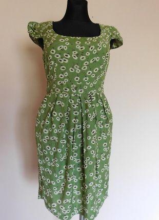 Great Plains Zielona Sukienka W Kwiatki 36 38 Dresses Fashion Sleeveless Dress
