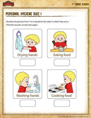 Personal Hygiene Worksheets For Kids Collection 1 8 Personal Hygiene Worksheets Worksheets For Kids Kindergarten Worksheets