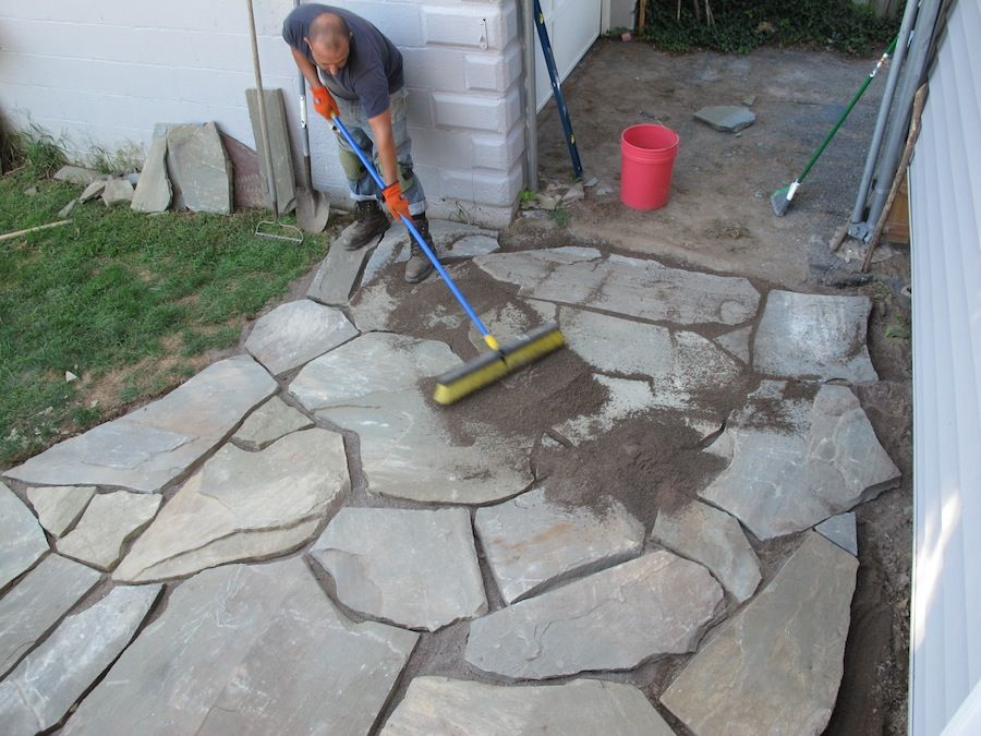 Building a Patio in One Day
