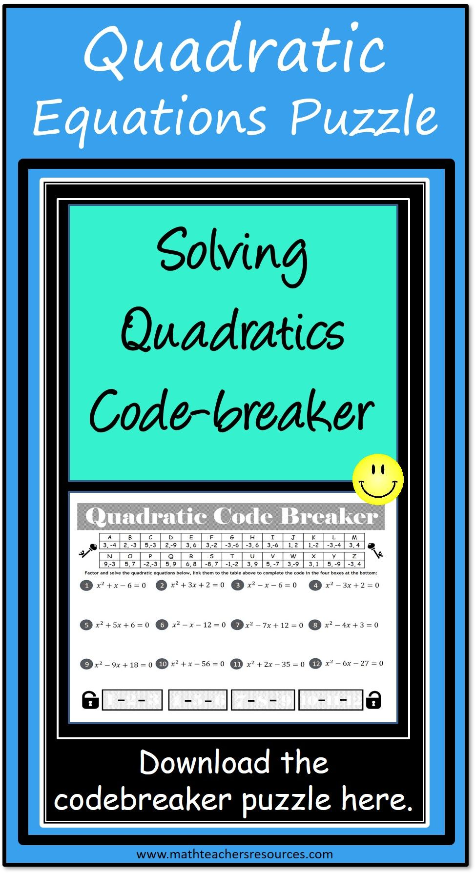 Quadratic Equations Quadratics Quadratic Equation Solving Quadratic Equations [ 1789 x 973 Pixel ]