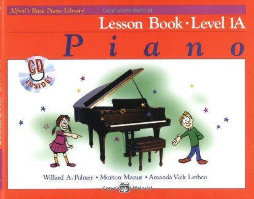 Alfred S Basic Piano Lesson Book Level 1a Alfred S Basic Piano