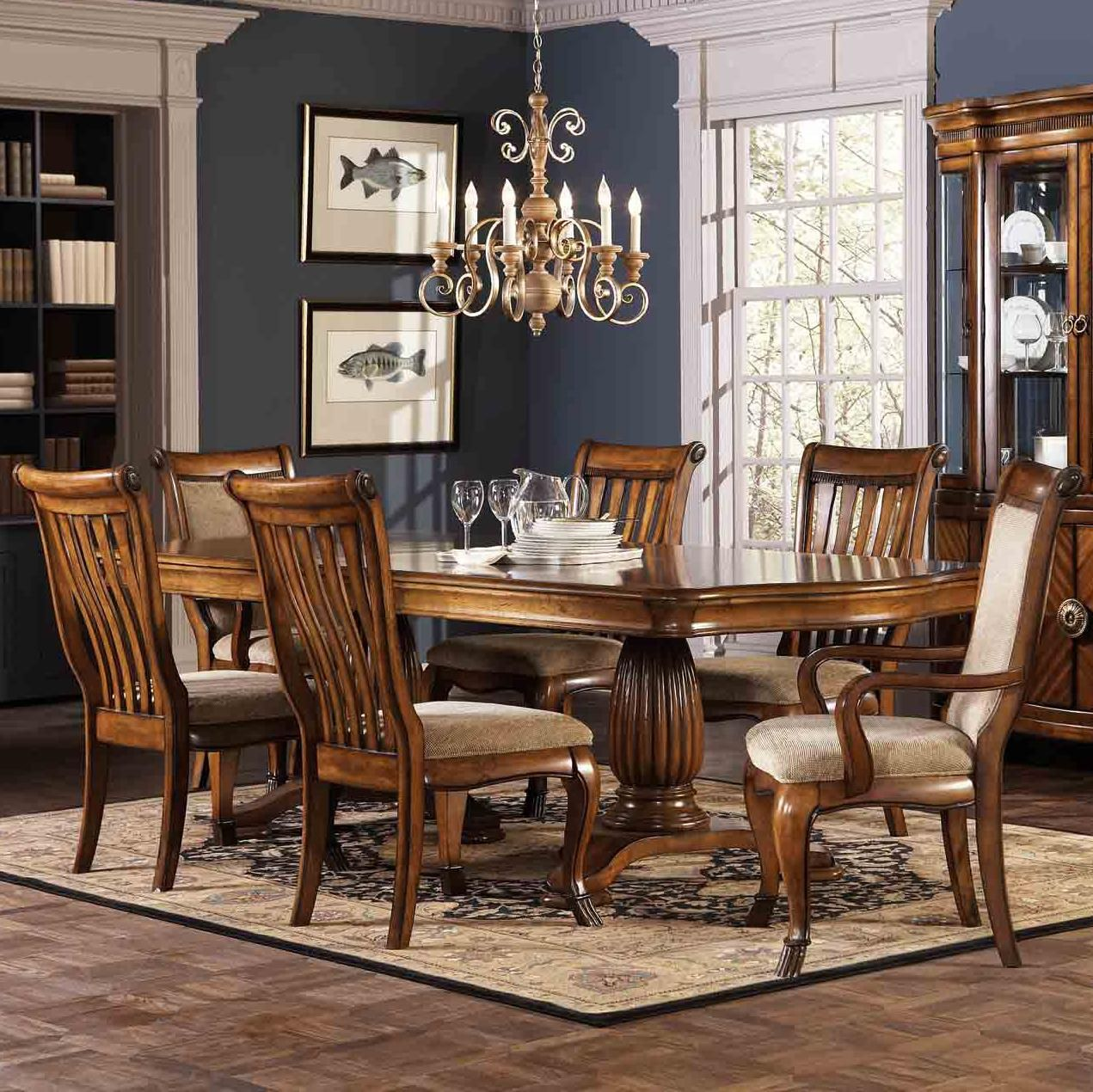 Saphrina 7 Piece Dining Table And Chairs Set By Coaster This