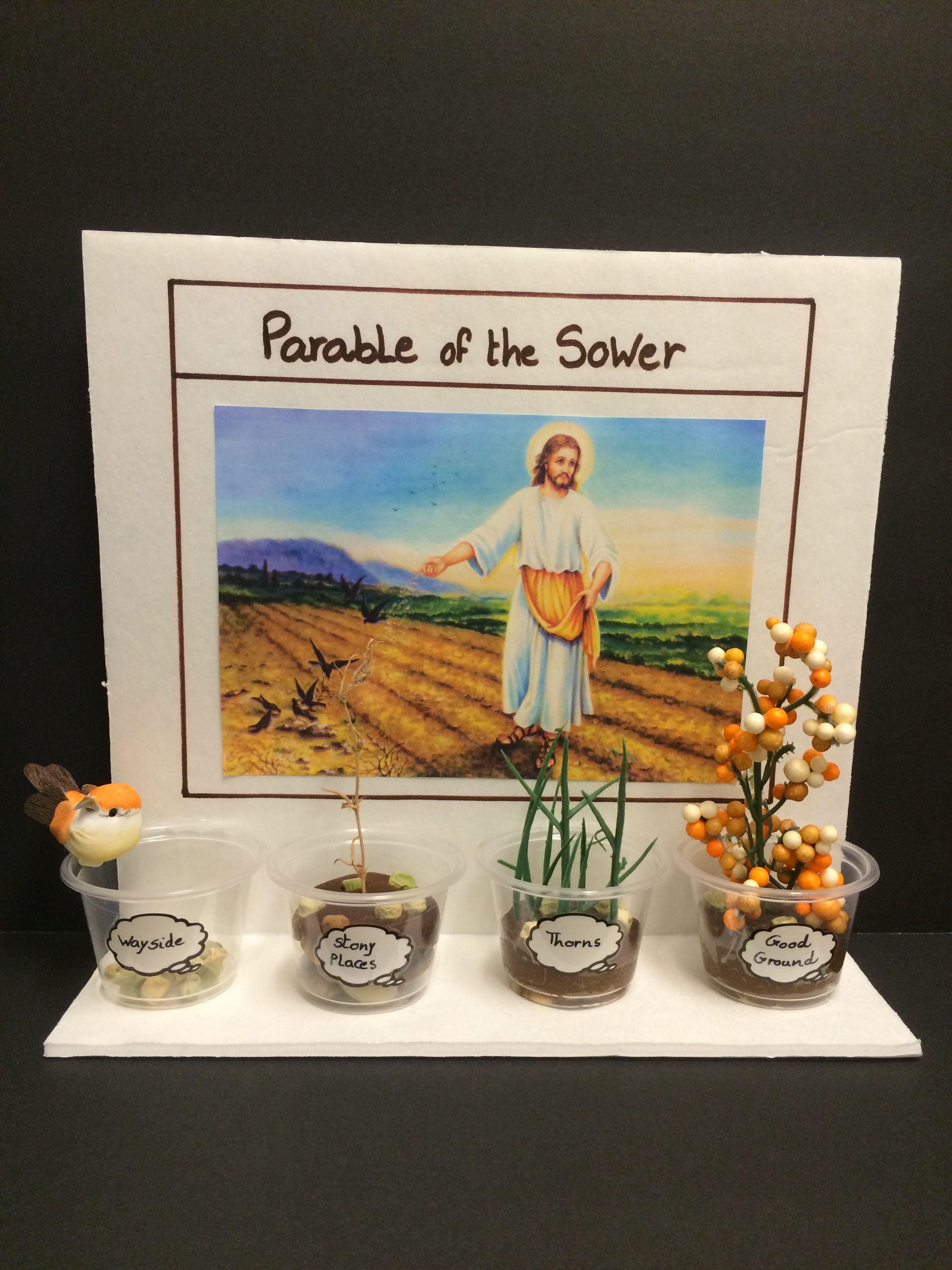 parable of the sower craft ideas parable of the sower sunday school sunday 7868