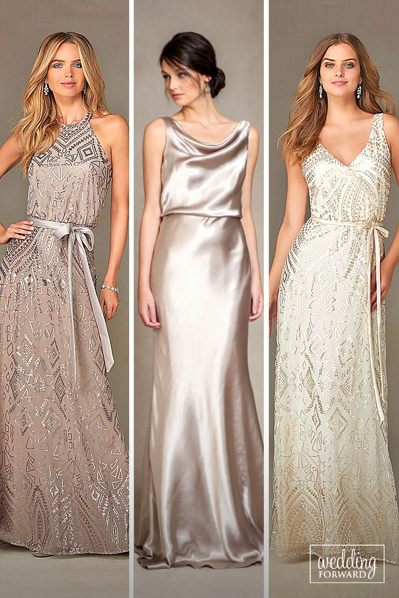 27 Full On Glitz Sequined & Metallic Bridesmaid Dresses | women\'s ...