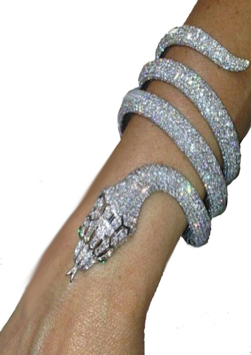 5e8326702ac26 Cartier snake diamonds bracelet   Snake Jewellery – 2019   Cartier ...