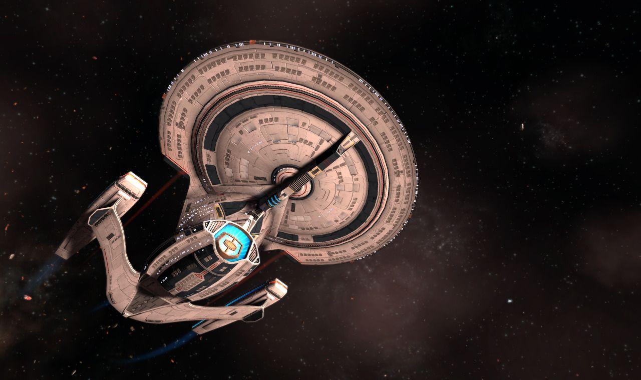 Yamato Class Starship I Designed And Modeled For Star Trek Online In 2020 Star Trek Online Starship Star Trek