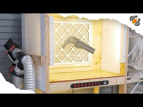 How to Make a Custom Paint Booth with Filter & Lights