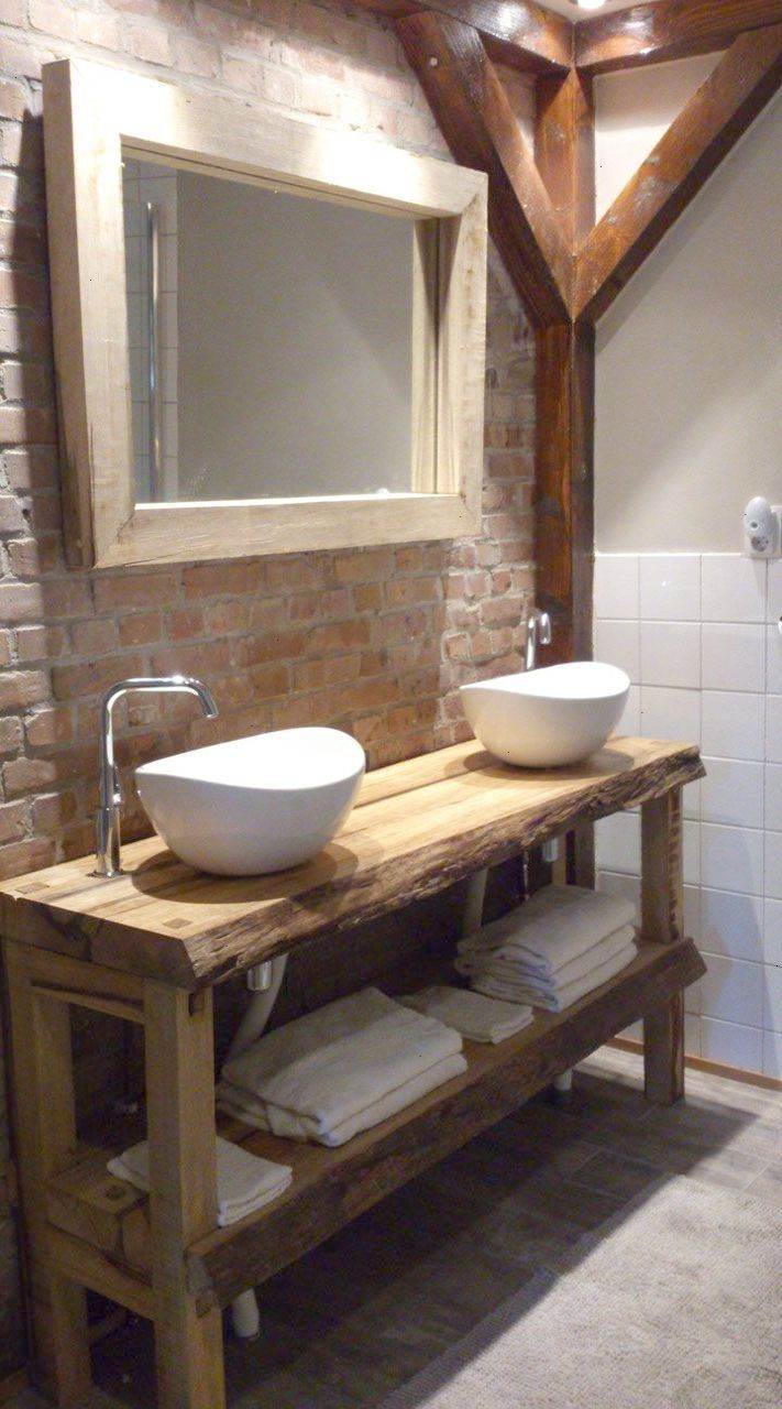 No Way Rustic Bathroom Ideas On A Budget Marvelous Badezimmer Badezimmer Rustikal Rustikale Bad Eitelkeiten