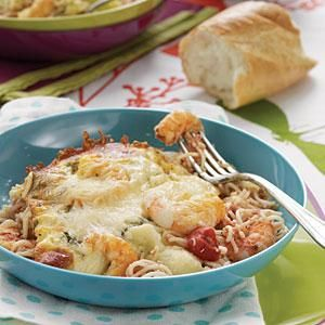 Shrimp and Feta Casserole Recipe | MyRecipes.com