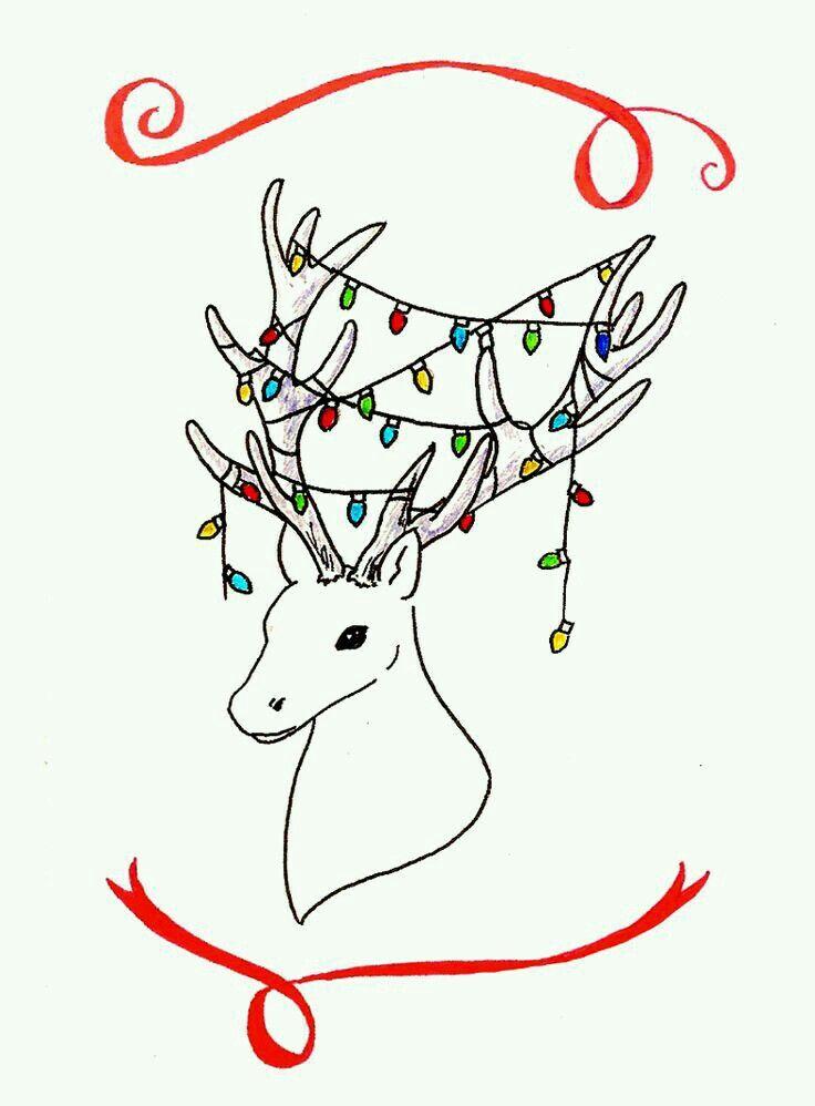 Что можно нарисовать для открытки к новому году