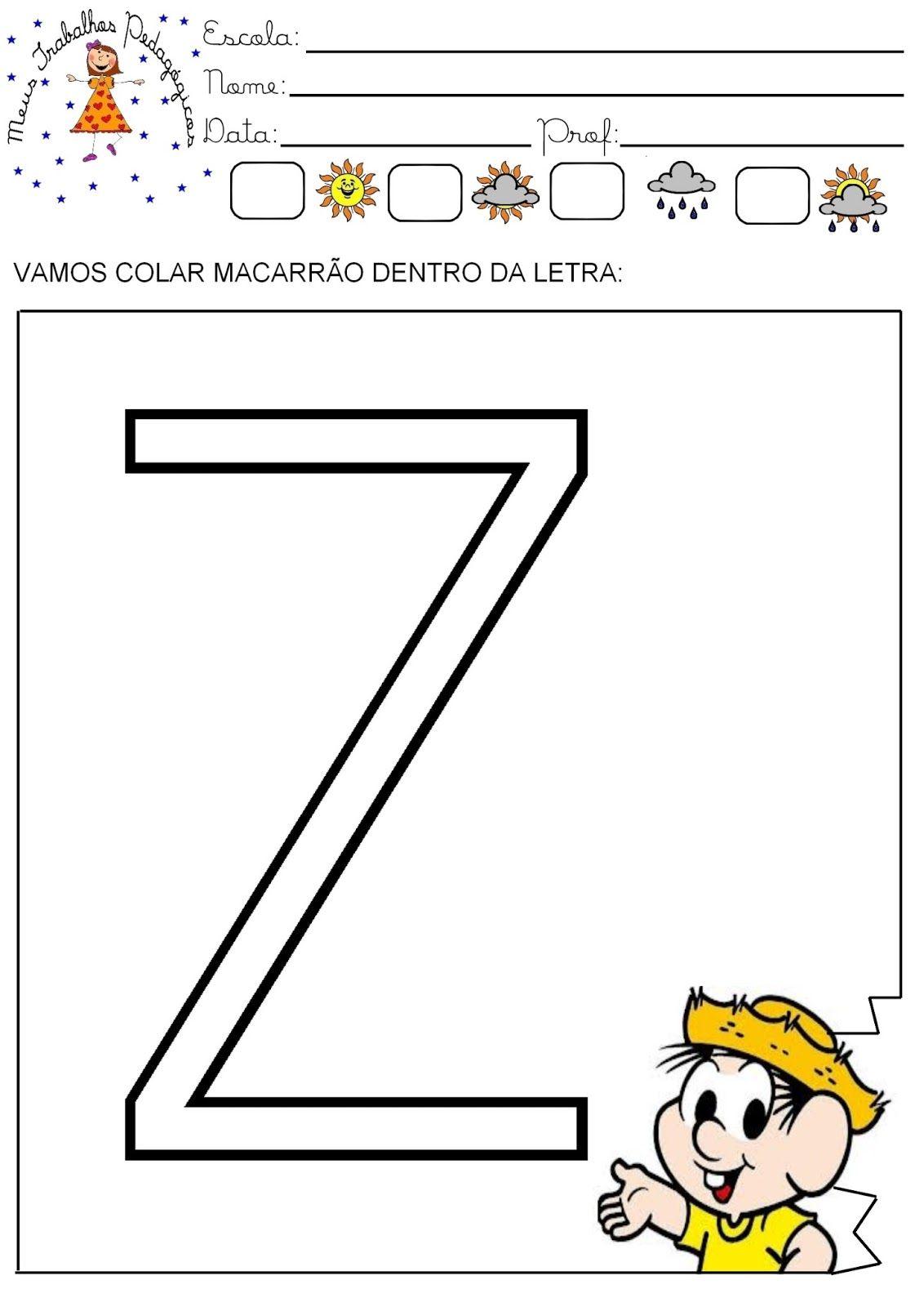 Trabalhando Com Colagens Colagem Letras Do Alfabeto Atividades