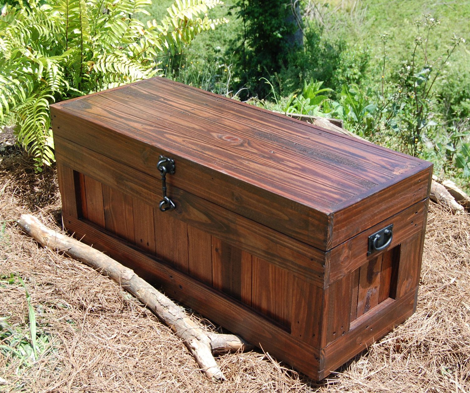 Trunk Coffee Table Plans: Large Hope Chest/ Coffee Table/ End Of The Bed Bench