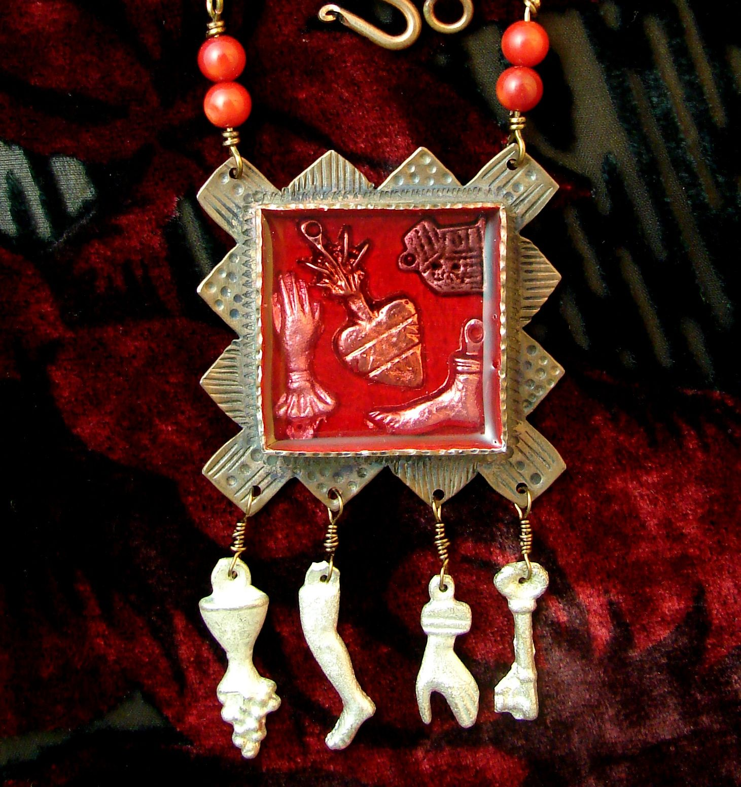 Handcrafted Jewelry Nicho by Lorena Angulo