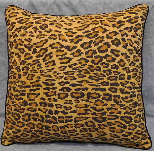 """Pillow, Ralph Lauren Aragon Leopard Animal Print 20"""""""