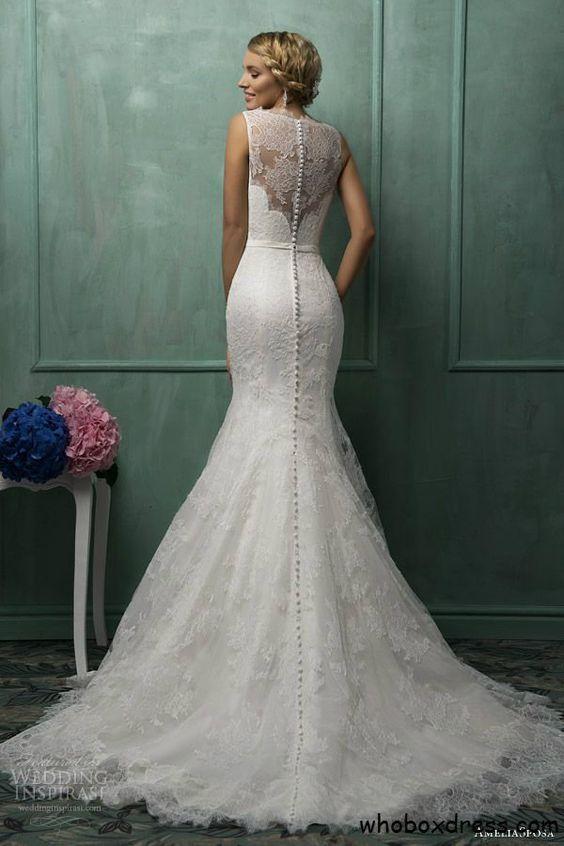 Vestidos de novias estilo sirena