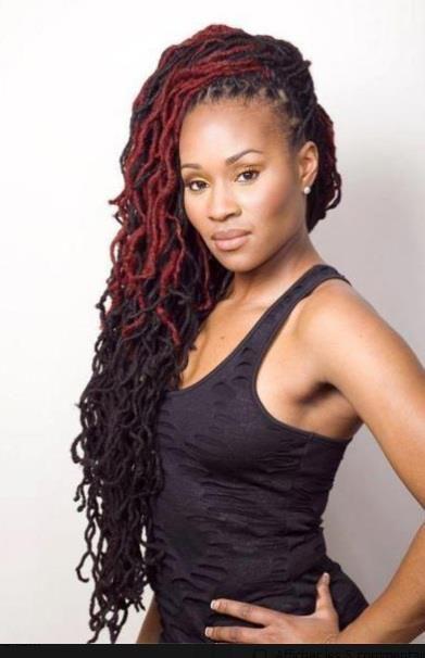 jamaican dreadlock hairstyles | dreadlocks # black woman # black ...