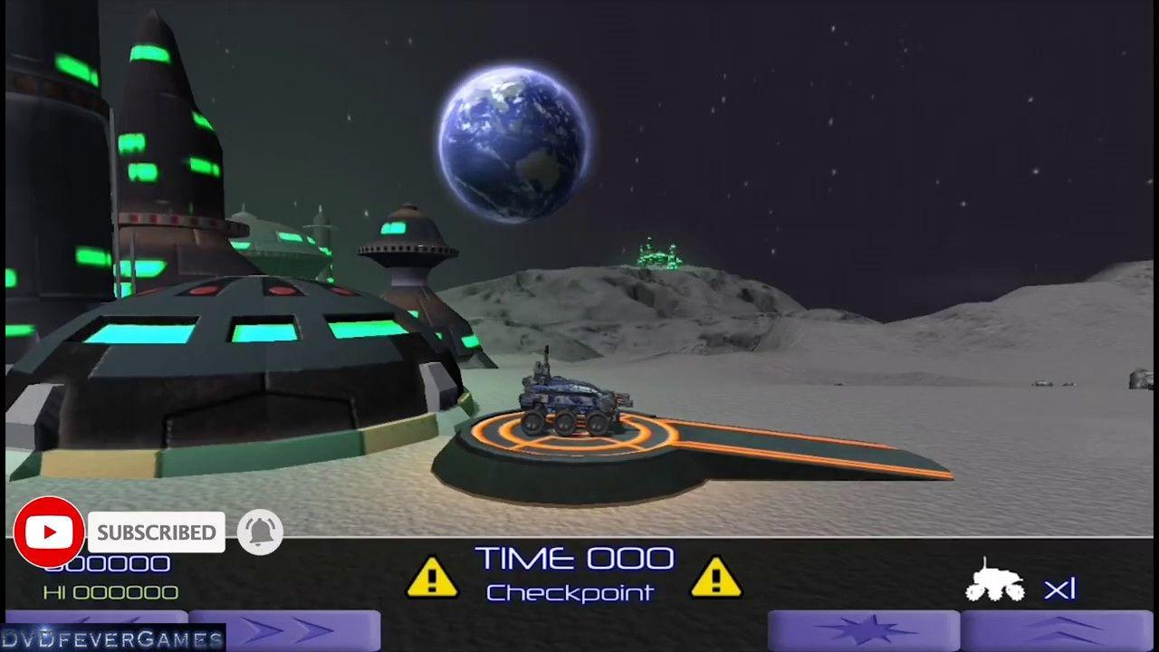 Moon Patrol Intellivision Amico Demo Moon Patrol Computer