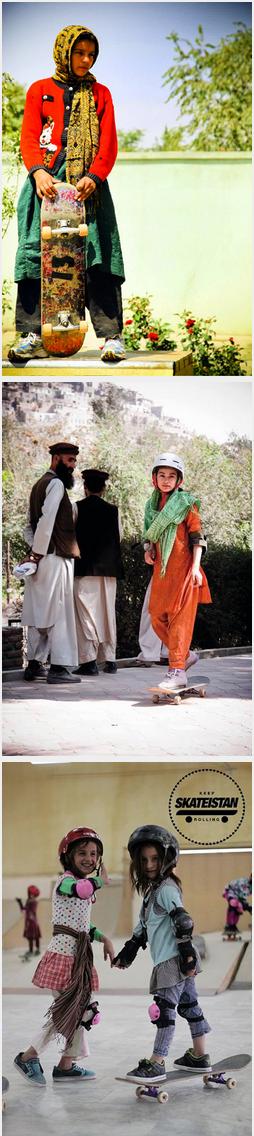 Girls Skating: Afghanistan