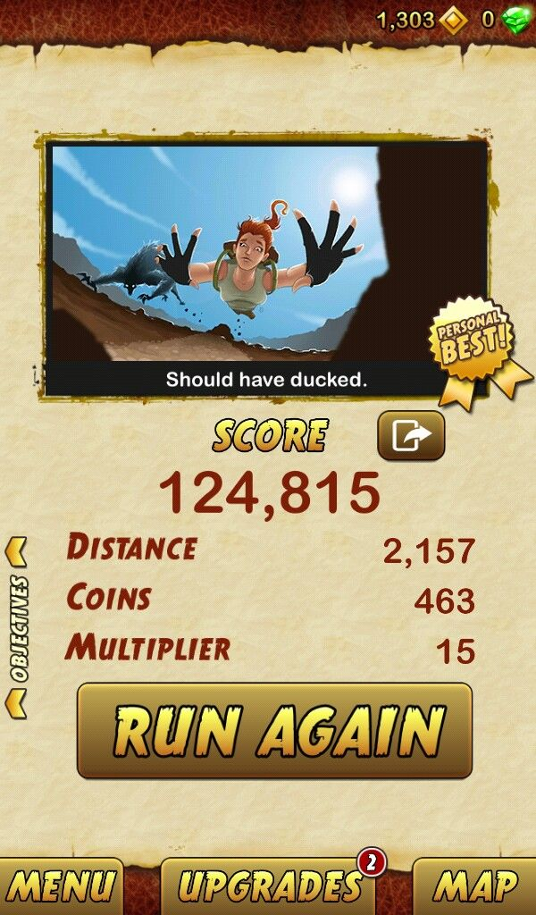 How To Get A High Score On Temple Run