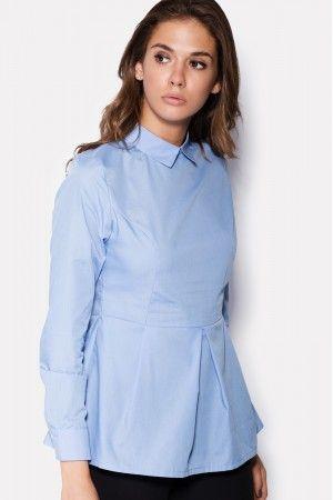 Жіноча блуза «Біані» блакитного кольору  bcb1d08268f4b
