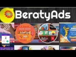 Beratyads network is a newly launched promise Ad Network