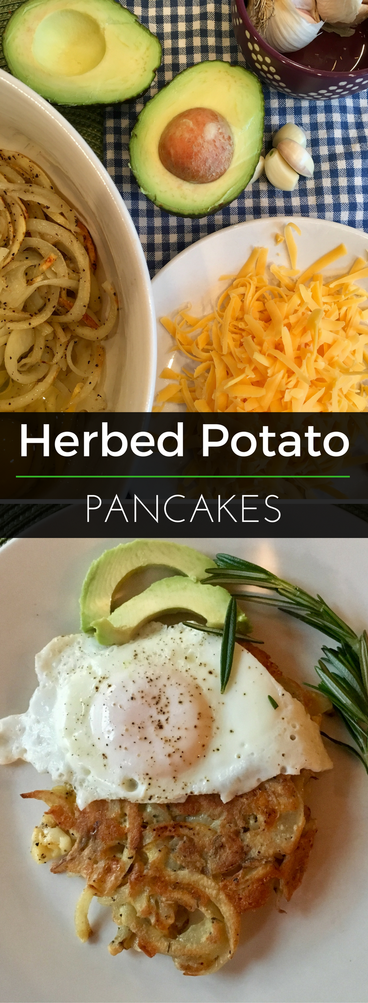 Pancakes don't always have to be sweet! Try these savory Herbed Potato Pancakes from our nutritionist. This recipe is perfect for any meal of the day. | Clearly Organic Nutritionist Corner
