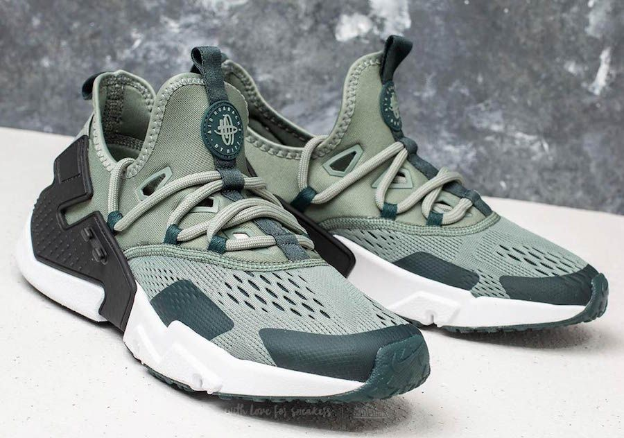 e9e7ccada9fa Nike Air Huarache Drift Breathe Clay Green