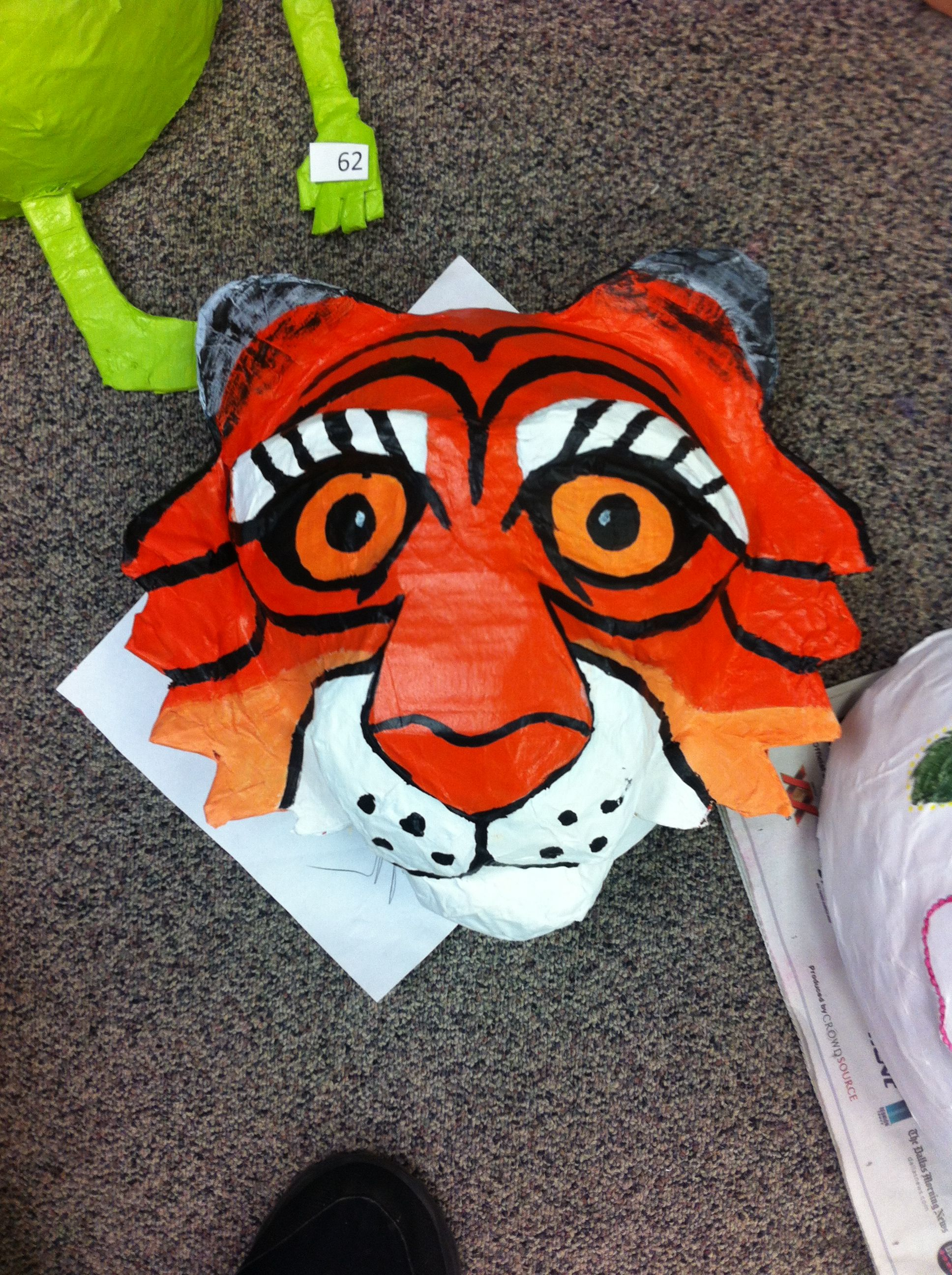 Paper Mache Mask 16